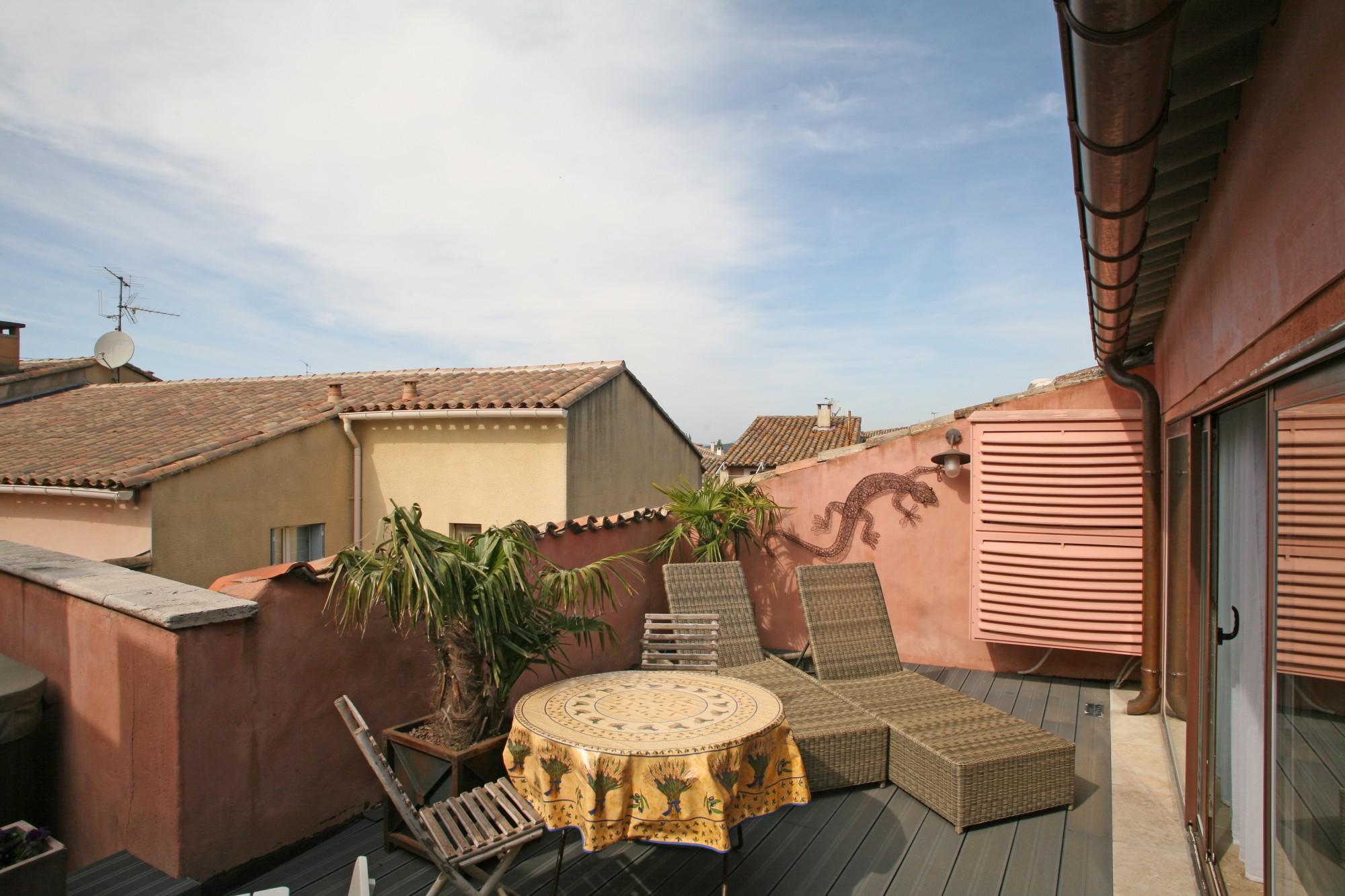 Isle sur la Sorgue - Très beau duplex avec terrasse