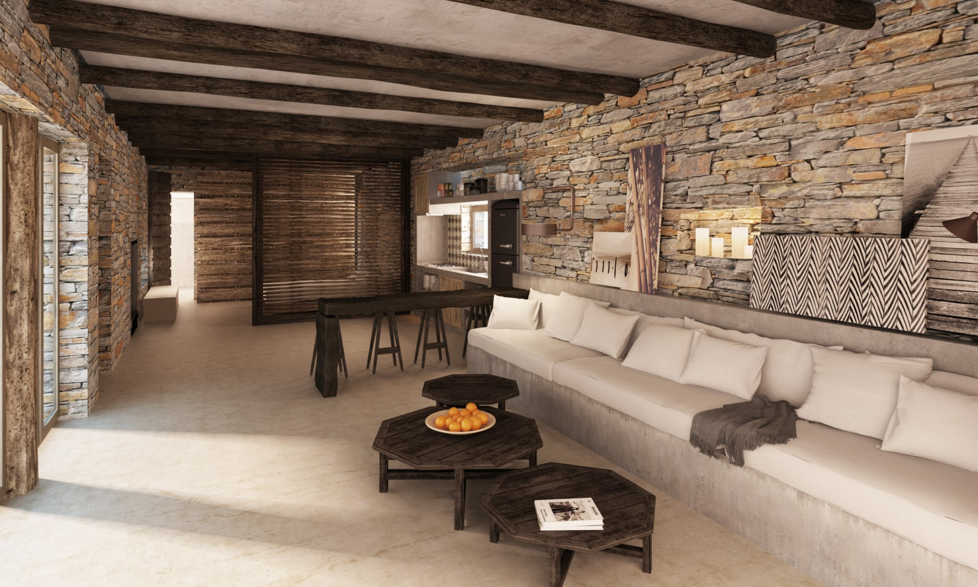 Maison moderne en Grèce
