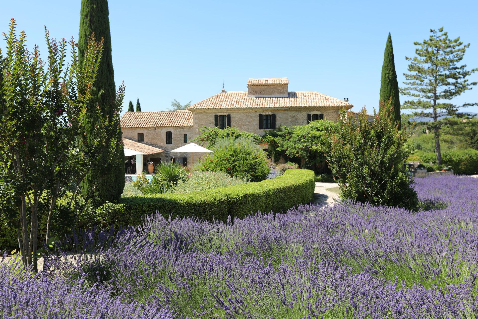 Luberon, superbe propriété avec piscine, tennis et dépendances