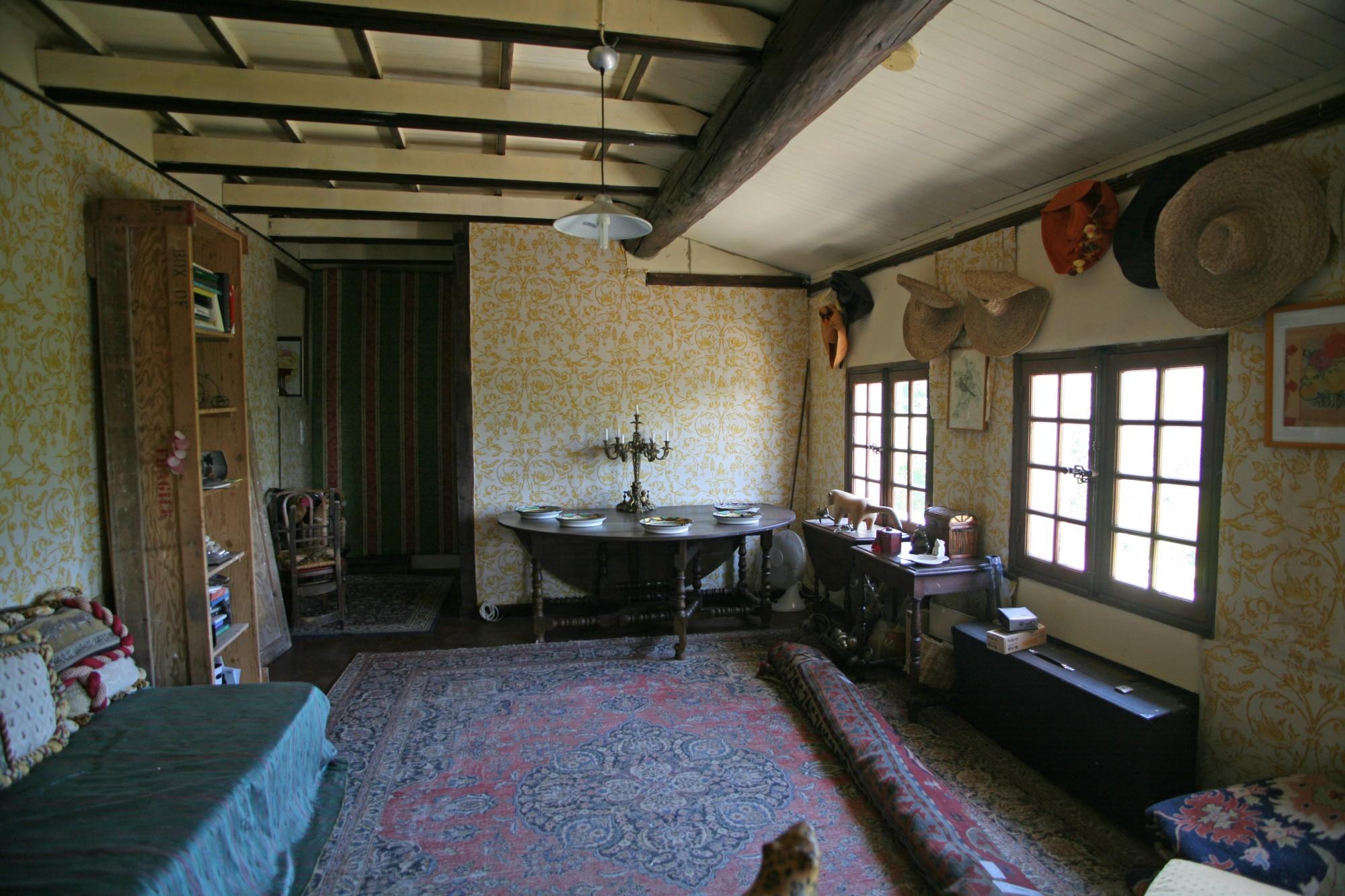 Maison de village avec terrain et vue sur le Luberon