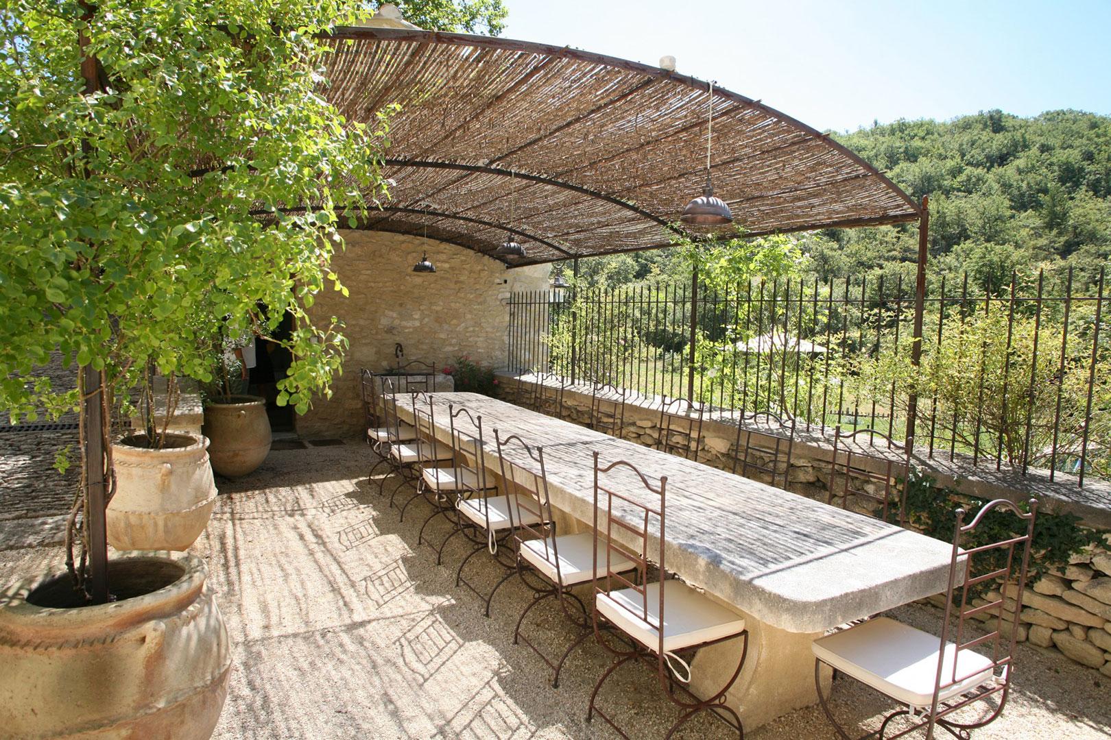 Superbe maison avec piscine dans un site remarquable