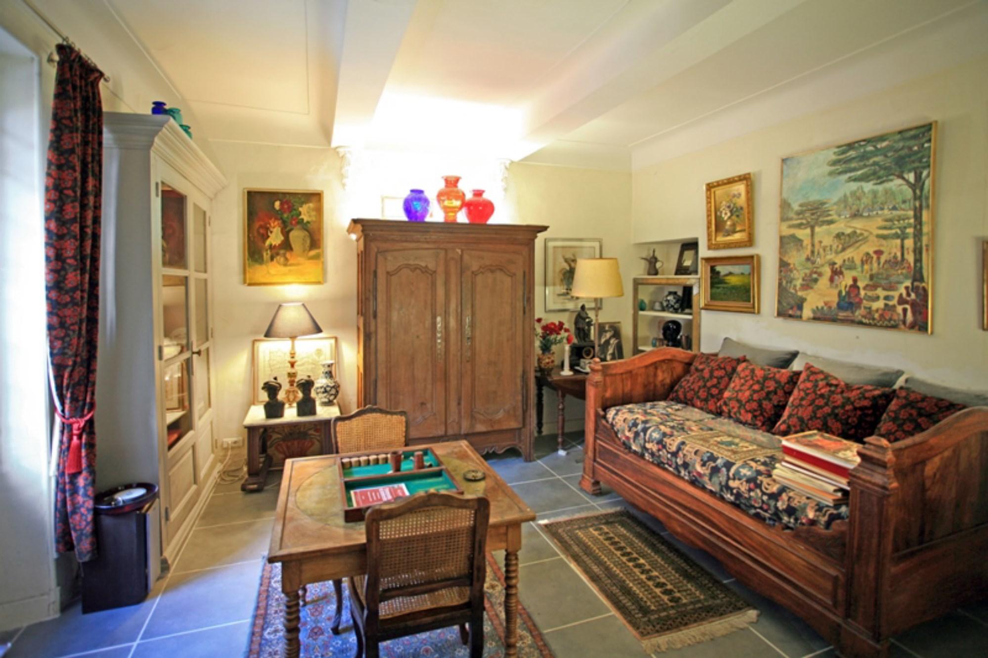 Ventes A Vendre En Viager Maison De Ma Tre Du Xixe Si Cle Sur  # Bibliotheque Luberon