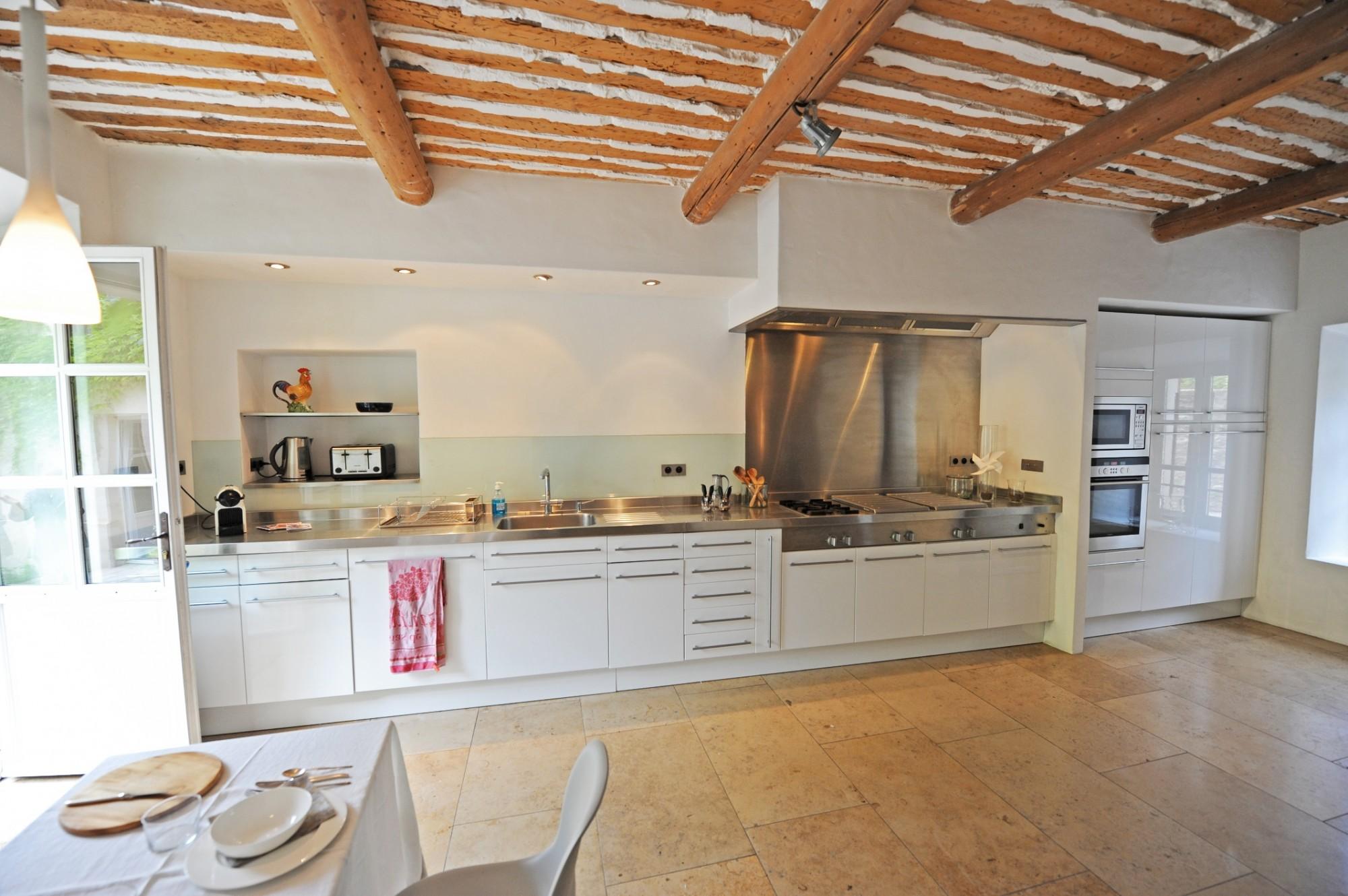 Exceptional Provencal cuisine kitchen