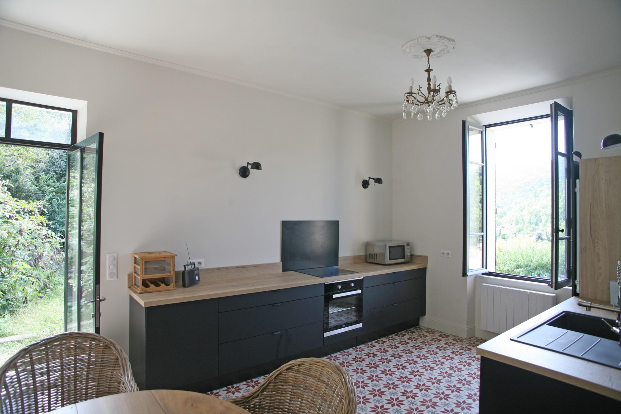 Ventes tr s belle maison de village des ann es 30 avec jardin et vue agence rosier - Maison des annees 30 ...
