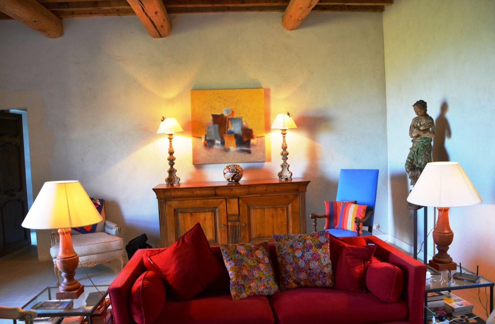 Confortable maison à louer par l'agence ROSIER à Gordes
