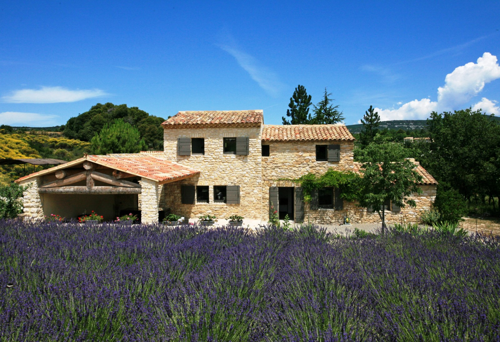 Luxury Real Estate Provence Pretty Stone Farmhouse To Rent For Great Holidays