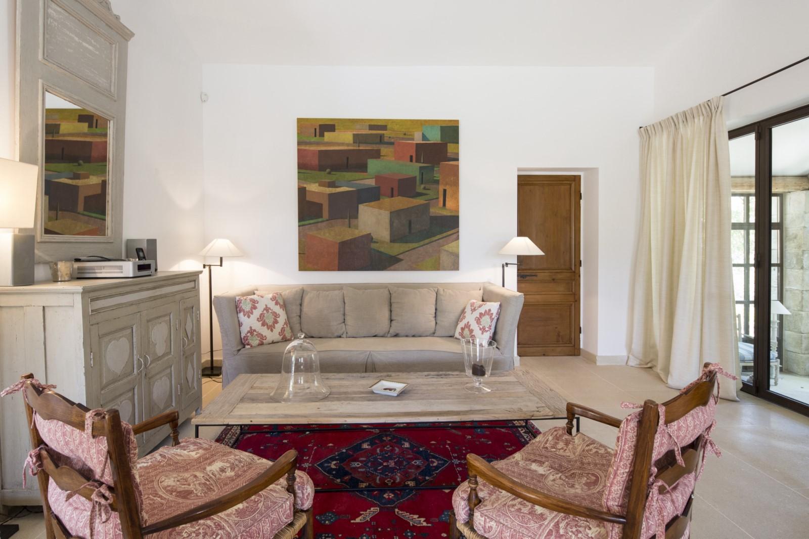 A louer pour les vacances à Gordes, authentique mas Provençal