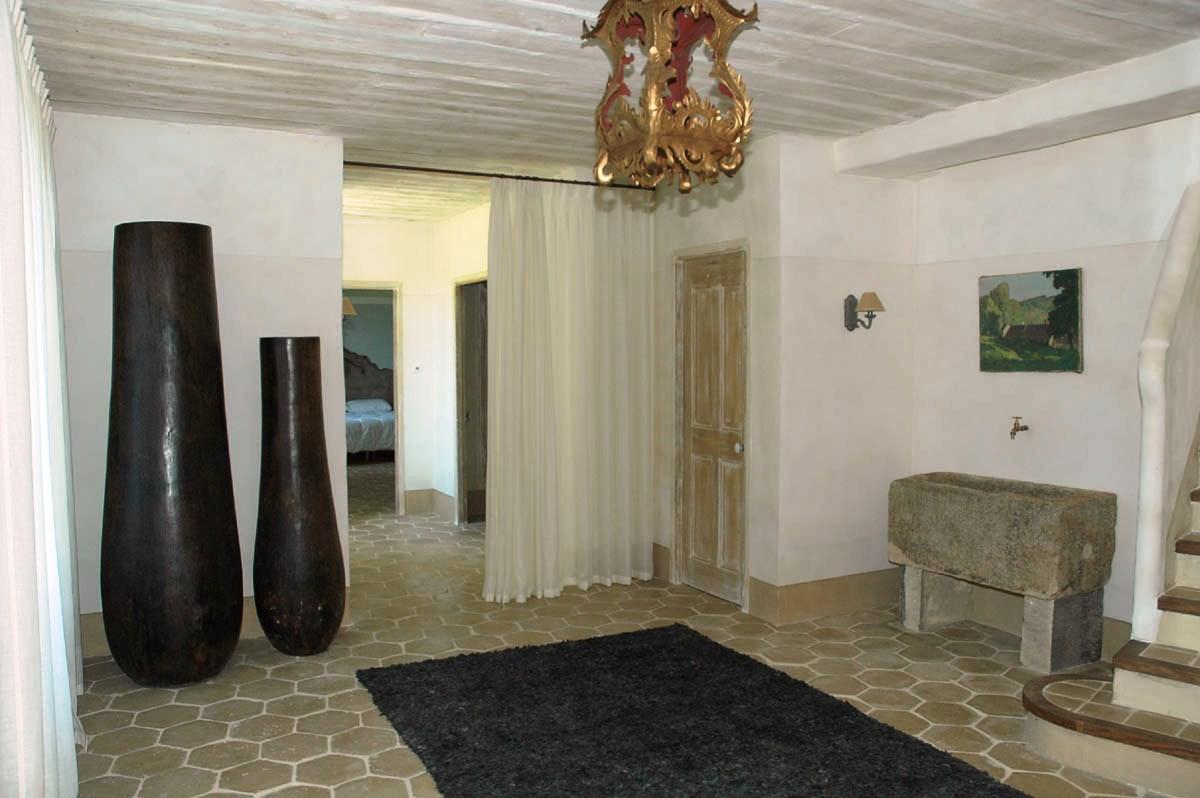 Beaux intérieurs pour cette maison en location