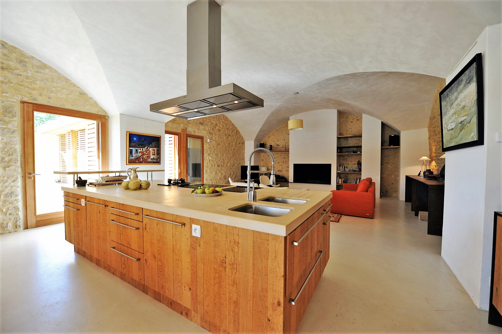 Belle propriété face au grand Luberon
