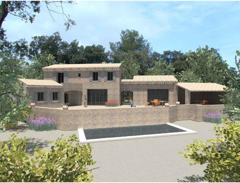 Ventes terrain a vendre avec projet d 39 architecte gordes for At home architecture 84220 gordes