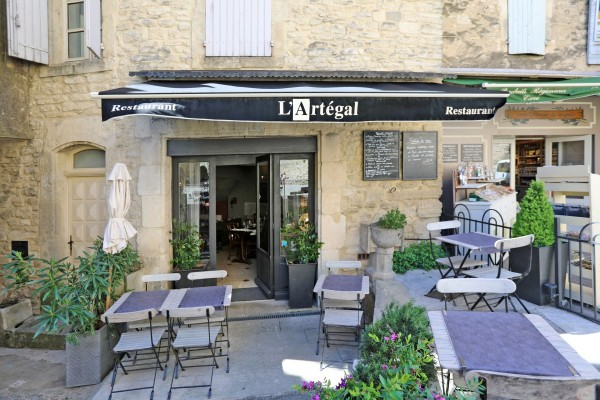 L'ARTEGAL, restaurant à Gordes