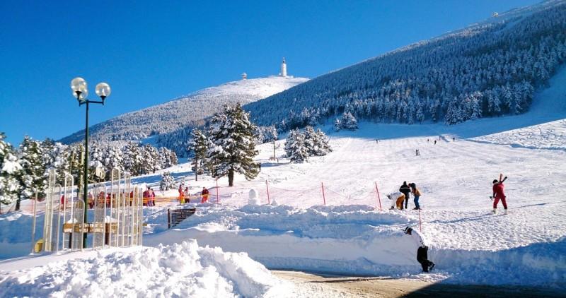 Station de ski du Mont Serein - Mont Ventoux - ROSIER