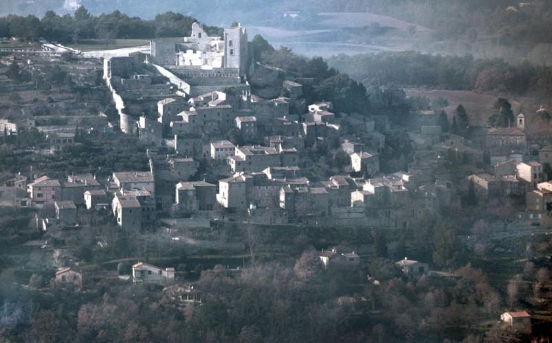 Le chateau de Lacoste