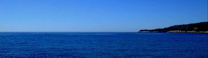 Les calanques et la mer