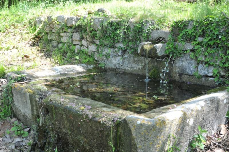 Certaines fontaines sont rustiques, discrètes, belles par leur simplicité