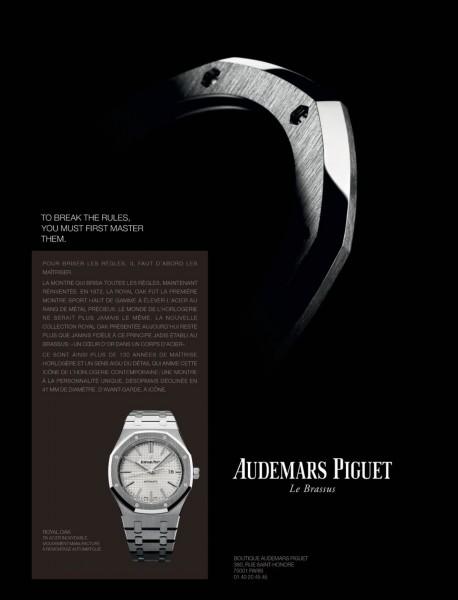 Les montres Audemars Piguet