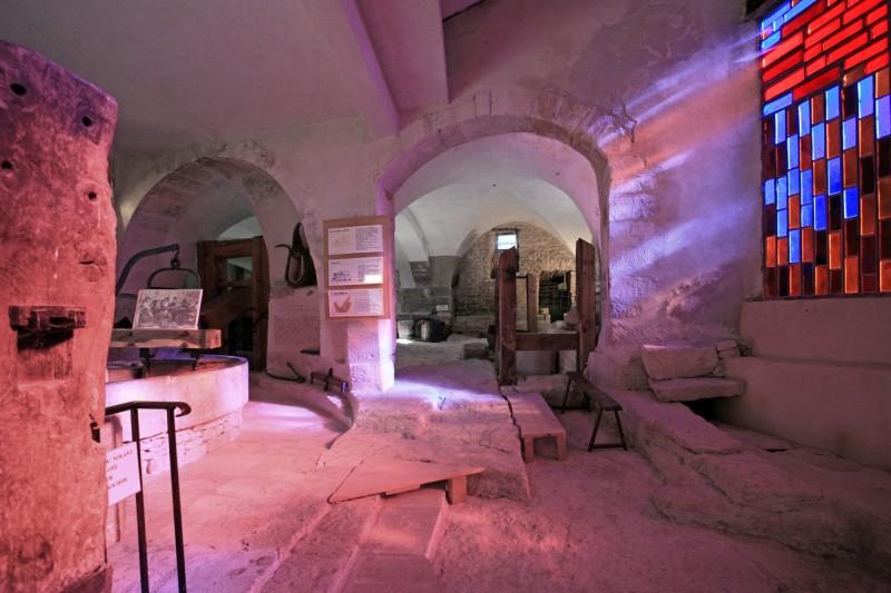 Le musée du vitrail à Gordes