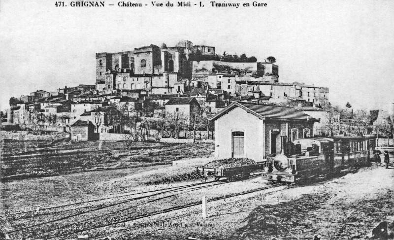 Carte postale Grignan et son chateau