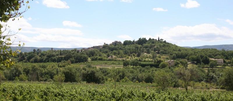 Le village perché de Goult en Luberon