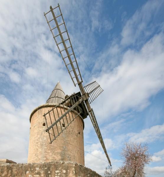 Les ailes du moulin de Jérusalem de Goult