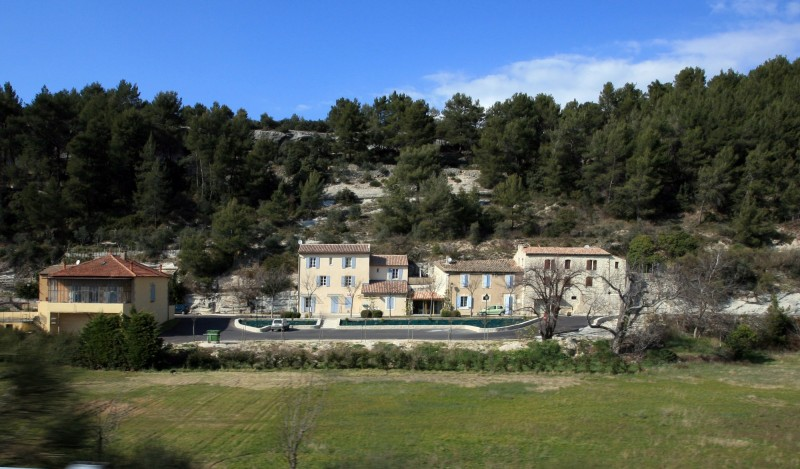 Beaumettes en Vaucluse, entre Gordes, Goult et Ménerbes.