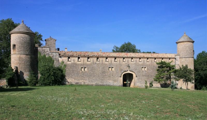 Le chateau de Javon, à Lioux, 84220