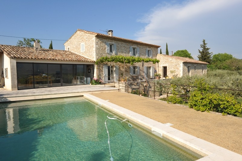 Ventes maison en pierres avec piscine dans la vall e du - Piscine dans la maison ...