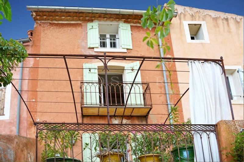 Ventes dans un village c l bre du luberon vendre maison de charme avec jar - Local commercial avec logement ...