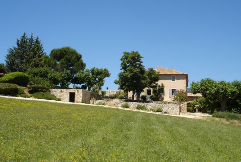 Bastide avec maison de gardien en Luberon