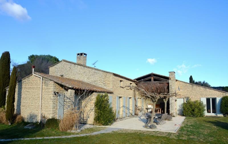 Maison en pierres à vendre au cœur du Luberon