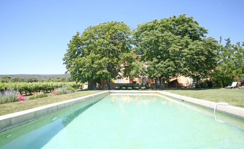Belle bastide avec piscine en Luberon