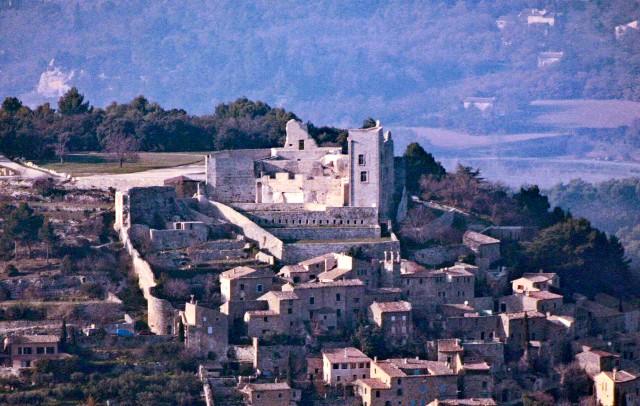 Le chateau de Lacoste, Vaucluse