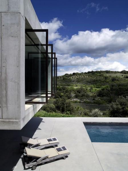 Maison moderne en location en Luberon